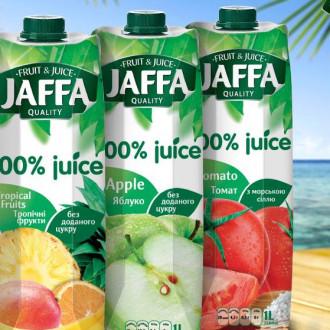Сік в асортименті Jaffa 1 л