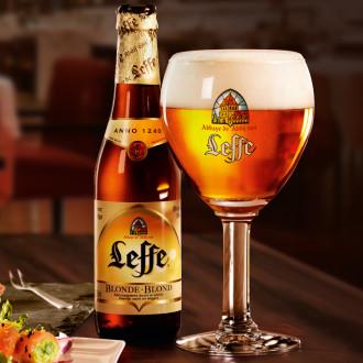Пиво Leef 0,33л
