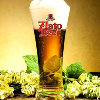 Пиво Zlatobeer 1л