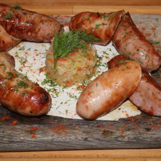 Сет з ковбасок власного виробництва
