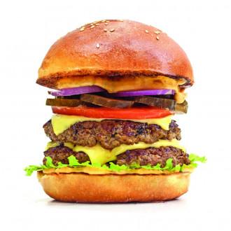 Бургер з додатками на вибір