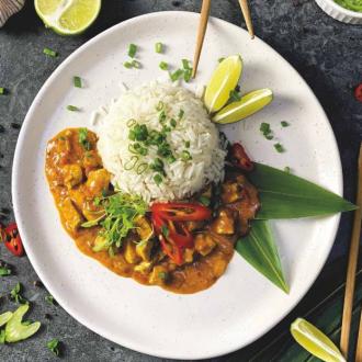 Рис з куркою карі