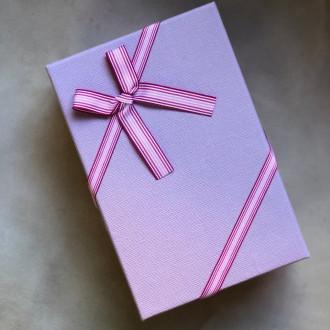 Коробка подарункова фіолетова