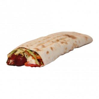 Лаваш з мисливською ковбаскою