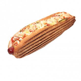 Хот-дог з мисливською ковбаскою