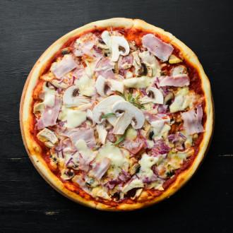 Pizza Smakue з КАРБОНАРАМИ