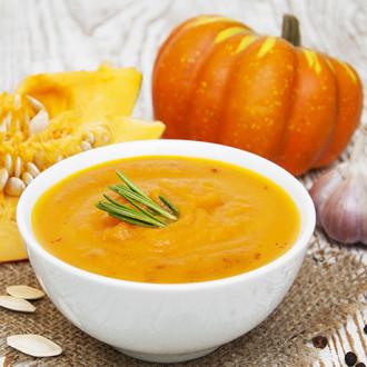 Крем-суп з гарбуза