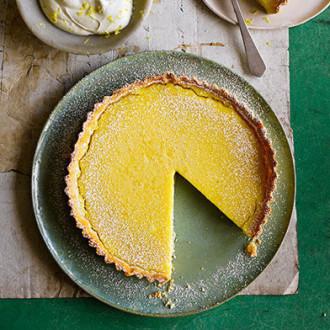 Тарт лимонний