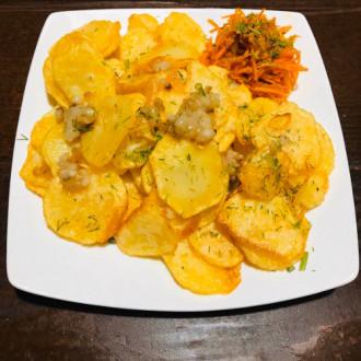Картопля шкваркотівка