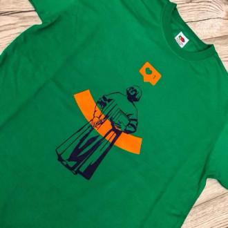 Футболка зелена/чоловіча S