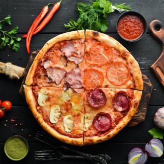 Піца Кватро Стаджіоні 30 см