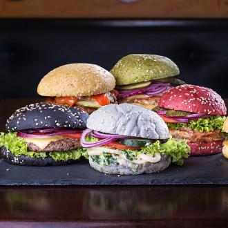 Кольоровий бургер