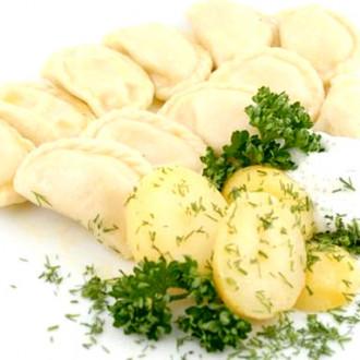 Варенки з картоплею